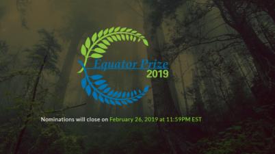 Equator Prize 2019