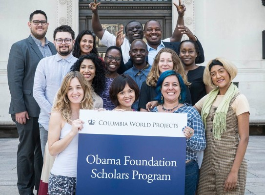 Obama Foundation Scholars Program at Columbia University