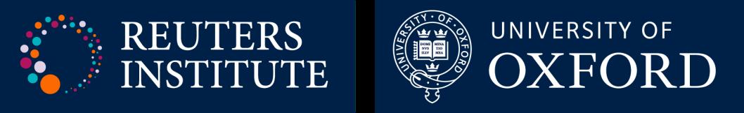 Reuters Institute University of Oxford