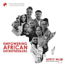 2019 Tony Elumelu Foundation Entrepreneurship Programme