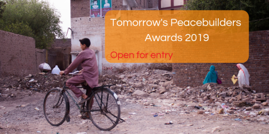 Tomorrow's Peacebuilders Award 2019