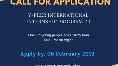Y-PEER International Internship Program 2019