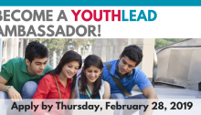 Call for YouthLead Ambassadors 2019