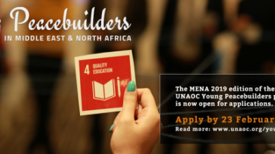 United Nations Alliance of Civilizations Young Peacebuilders Programme in MENA