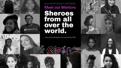 For Creative Girls Mentorship Program 2019