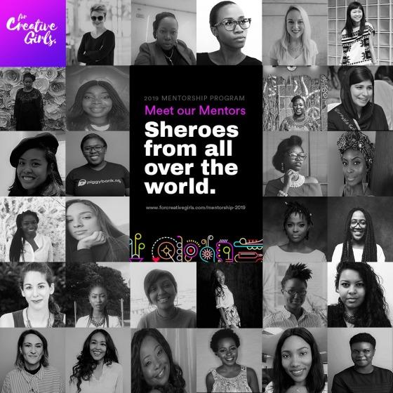 For Creative Girls Mentorship Program 2019