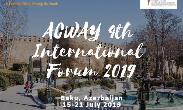 4th ACWAY Youth Forum 2019 in Azerbaijan