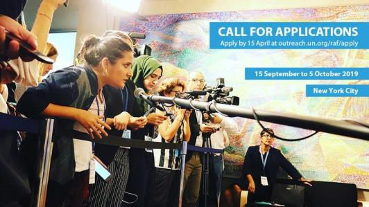 United Nations Reham Al-Farra Memorial Journalism Fellowship 2019