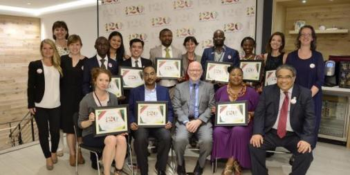 120 Under 40 Young Family Planning Leaders