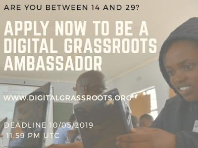 Digital Grassroots Ambassadors For 2019