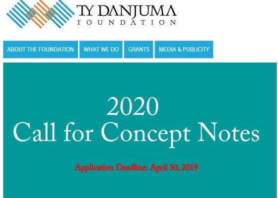 TY Danjuma Foundation Call For Grant Applications