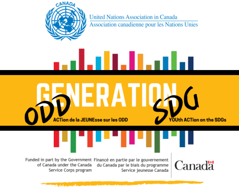 United Nations Association of Canada Generation SDGs Call For Youth Ambassadors