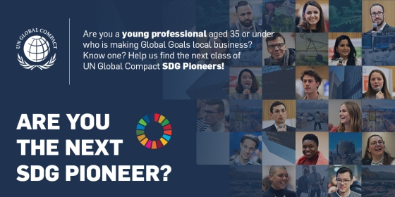 United Nations Global Compact SDG Pioneers