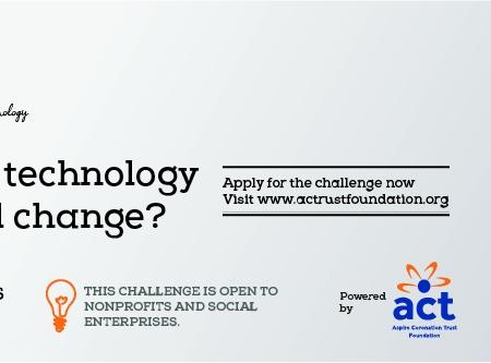 CT Foundation Changemakers Innovation Challenge 2019