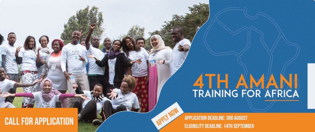 4th Peace Revolution Amani Training For Africa