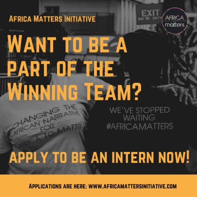 Africa Matters Initiative Internship