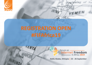 Forum on Internet Freedom in Africa 2019 (Travel Support Available)