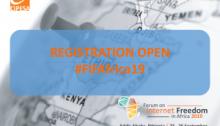 Forum on Internet Freedom in Africa 2019