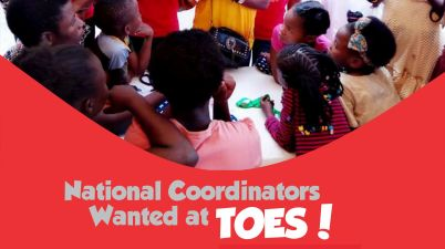 Call For National Coordinator at TOES 2019