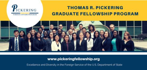 Thomas Pickering Foreign Affairs Program and Fellowship