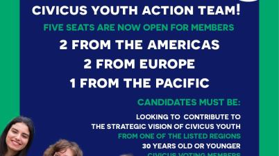 Call For Applications To CIVICUS Youth Action Team
