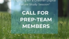 YEE Call for Prep Team Members Study Session On Fighting for a Greener Digital Future