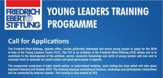 Friedrich-Ebert-Stiftung Young Leaders Forum 2019