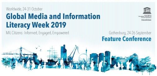 GAPMIL Global Media and Information Literacy (MIL) Week 2019