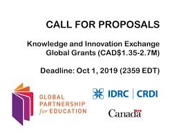 Learning Partners for Global Partnership For Education (GPE) Knowledge and Innovation Exchange (KIX)