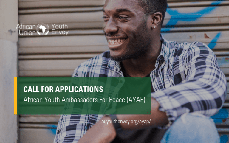 Call For Applications: African Youth Ambassadors For Peace