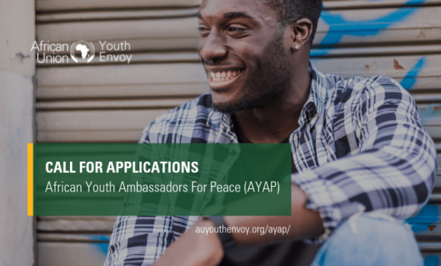 African Youth Ambassadors For Peace African Union Youth Envoy