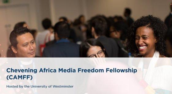 Chevening Africa Media Freedom Fellowship