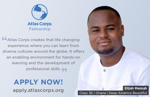 Atlas Corps Fellowship For Social Change Leaders