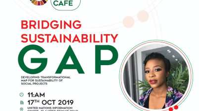 Youth SDGs Cafe on Bridging Sustainability Gap (October 2019)