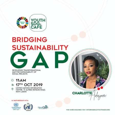 Youth SDGs Cafe on Bridging Sustainability Gap (October 2019)