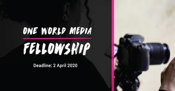 One World Media Fellowship 2020