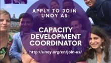 Job Opening: Capacity Development Coordinator At UNOY Peacebuilders 2020