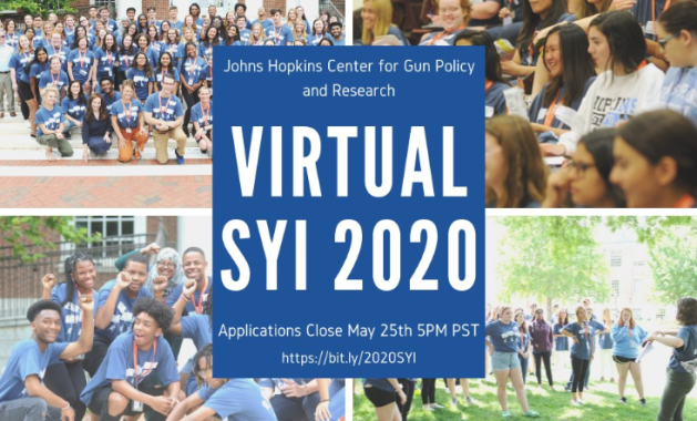 Summer Youth Institute on Reducing Gun Violence in America: Evidence for Change hosted by the Johns Hopkins Center for Gun Policy and Research (JHCGPR)
