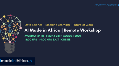 AI Made in Africa Remote Workshop