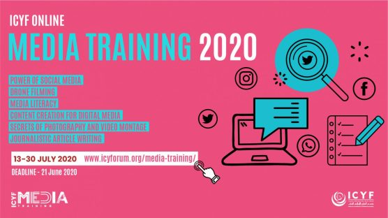 Islamic Cooperation Youth Forum (ICYF) Online Media Training 2020