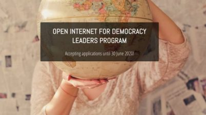 Open Internet for Democracy Leaders Program