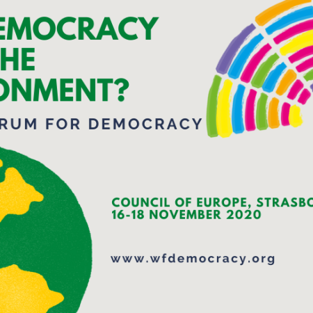 2020 World Forum for Democracy