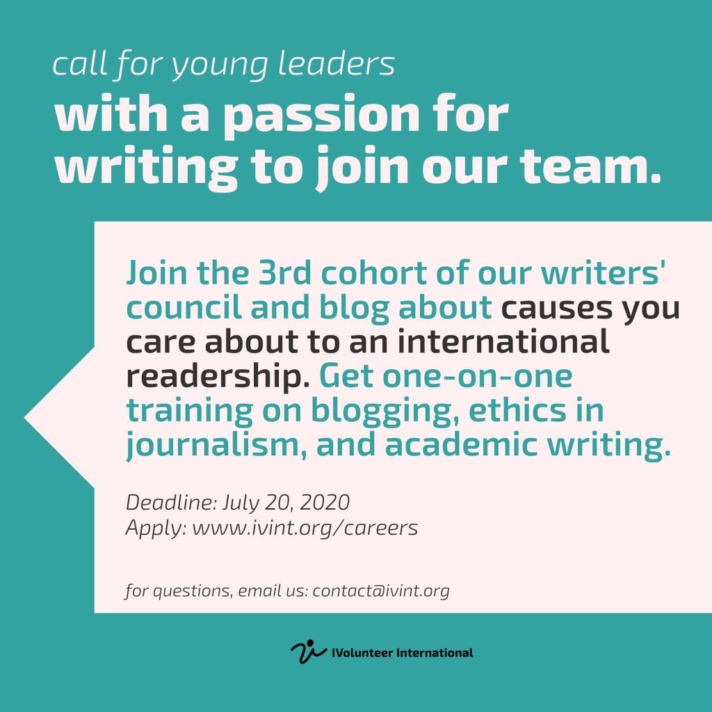 IVolunteer International Writers' Council