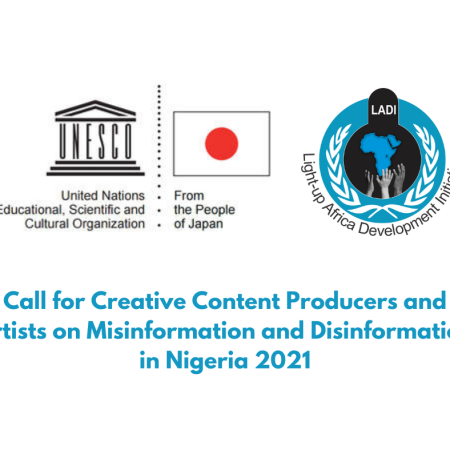Call for Creative Content Producers and Artists on Misinformation and Disinformation
